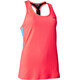 Salming T-Back Tanktop Women Coral/Light Blue